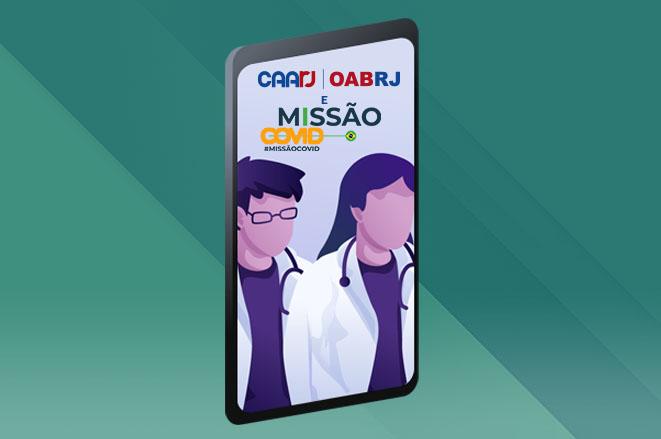 Caarj E Missão Covid Juntos Contra O Coronavírus