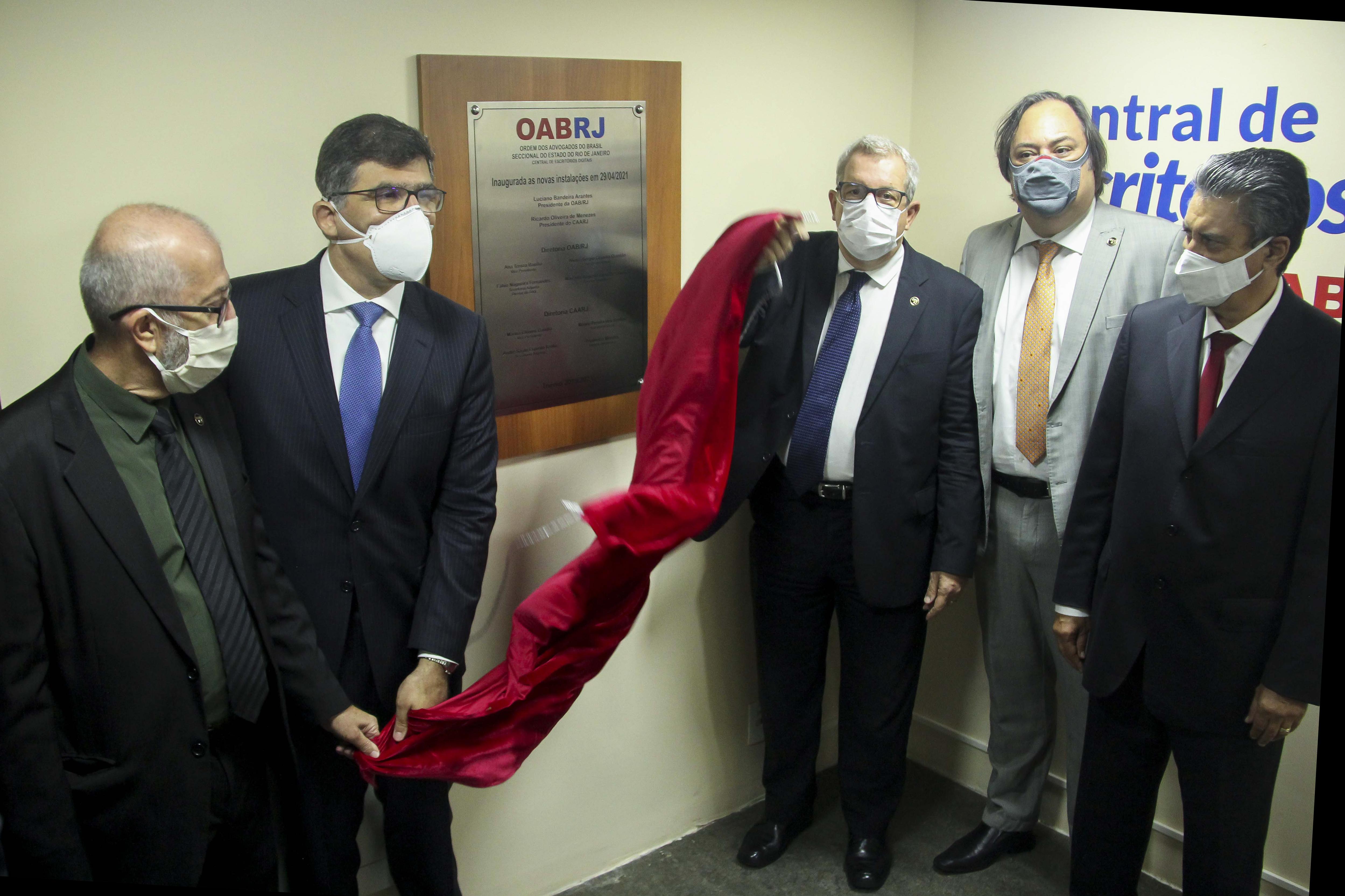 Caarj E OABRJ Inauguram Central De Escritórios Digitais